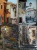 Quadrittico vicoli e borghi di Calabria