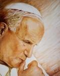 Ritratto di Giovanni Paolo II