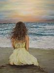La ragazza che guardava il mare
