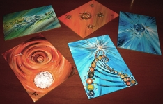 5 mini dipinti