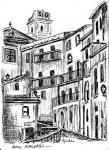 Scorcio di Guardia Piemontese paese