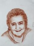 ritratto di Alda Merini